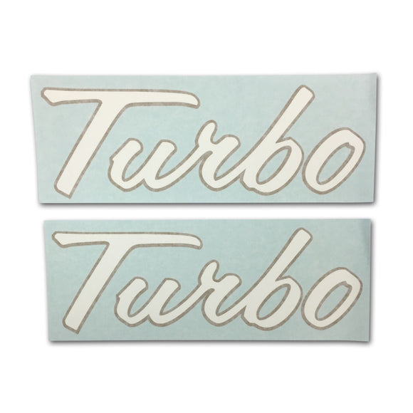 IH 1206: Vinyl Cut Turbo Decals, set of 2