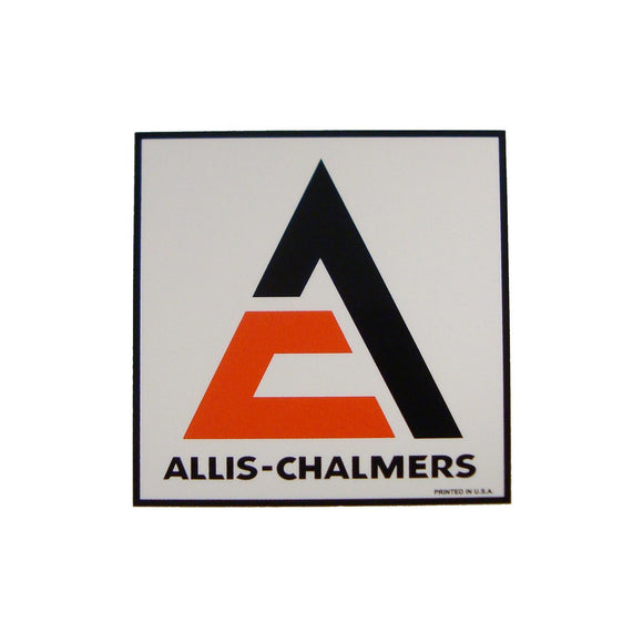 Allis Chalmers Square Decal - Bubs Tractor Parts