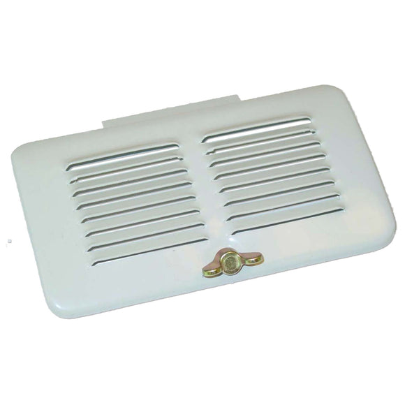 Air Cleaner Grille Door with thumb screw - Bubs Tractor Parts