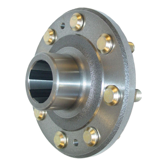 Rear Hub Assembly with installed bolts - Bubs Tractor Parts