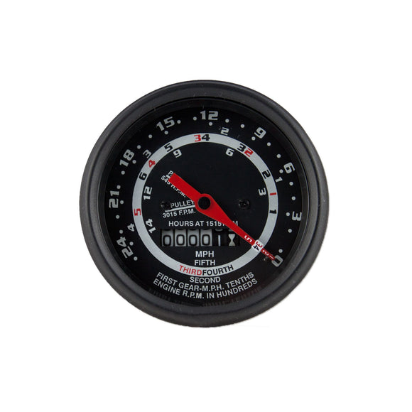 5 Speed Tachometer / Proofmeter with OEM style needle - Bubs Tractor Parts