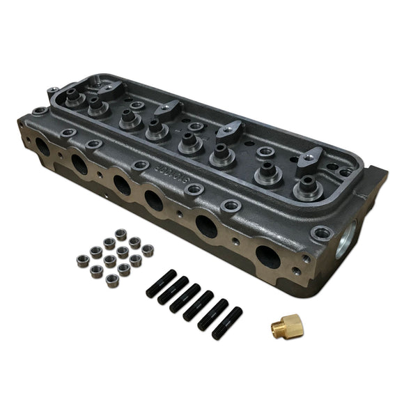 Cylinder Head With Valve Guides - Bubs Tractor Parts