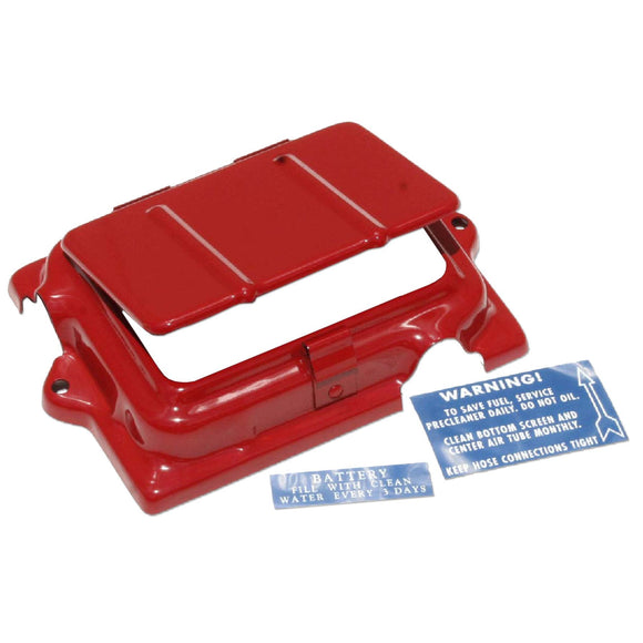 Battery Cover With Access Door And Battery Decal For Cover - Bubs Tractor Parts