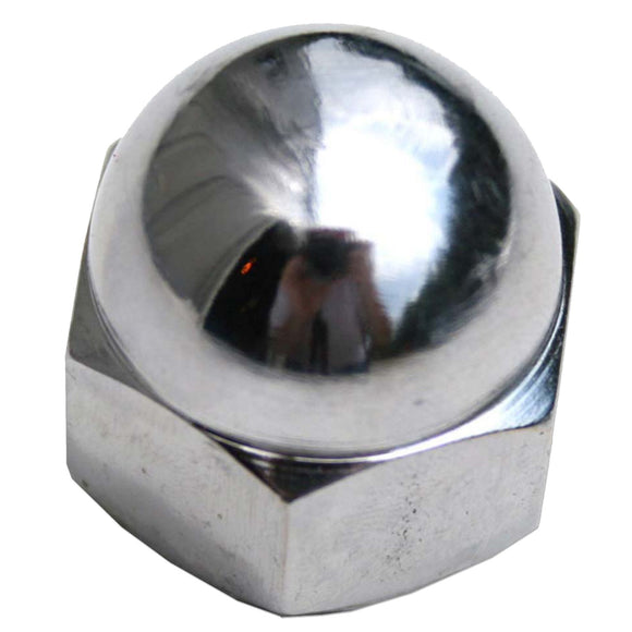 Chrome Steering Wheel Nut - Bubs Tractor Parts