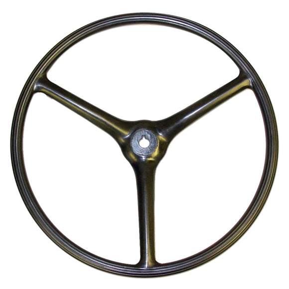Steering Wheel (Ribbed) - Bubs Tractor Parts