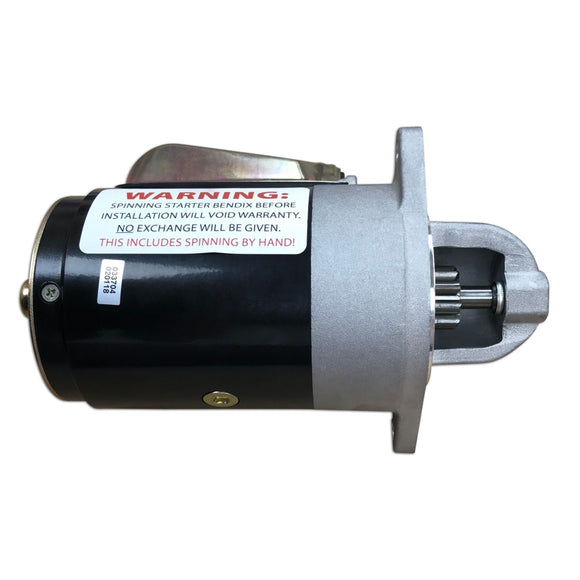 New 12-Volt Starter, Gas engines only - Bubs Tractor Parts