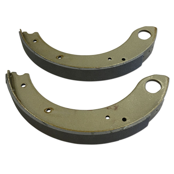2-Piece Brake Shoe Set with Lining - Bubs Tractor Parts