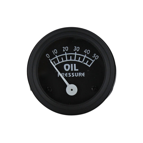 Oil Pressure Gauge (0-50 PSI) - Bubs Tractor Parts