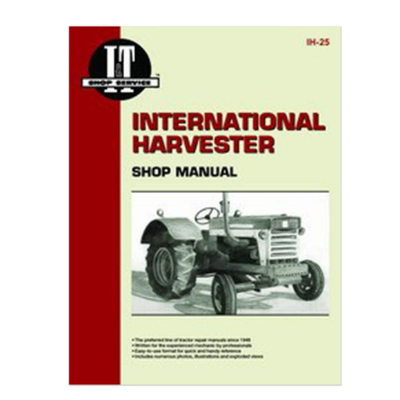 International I&T Shop Manual - Bubs Tractor Parts