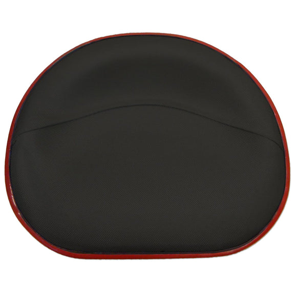 Black Deluxe Upholstered Seat Pan