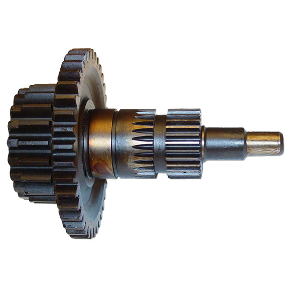 Transmission Drive And Secondary Sun Gear Shaft With Belt Pulley Drive Gear - Bubs Tractor Parts