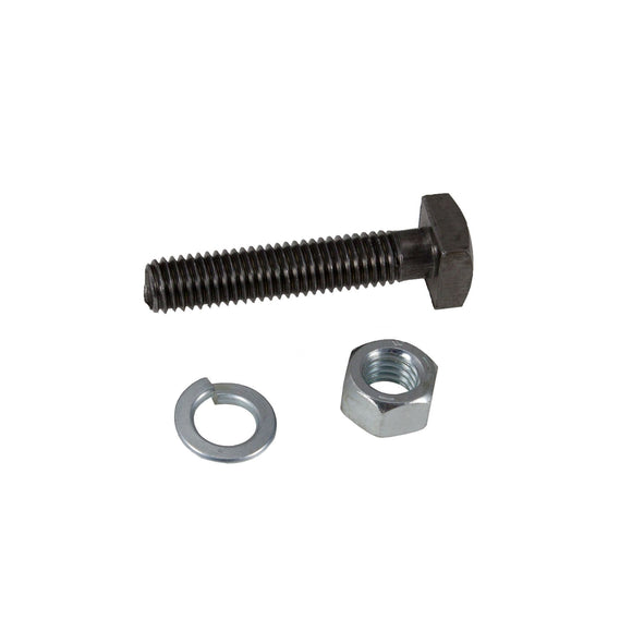 Front Wheel Mounting Bolt, Nut, Lockwasher