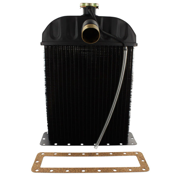 Radiator With Cap And Mounting Gasket