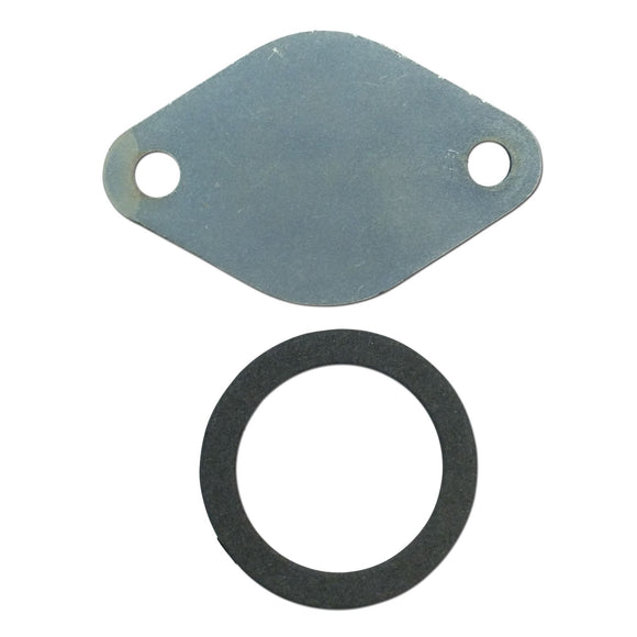 Distributor Tachometer Drive Housing Block Off Plate w/ Gasket - Bubs Tractor Parts