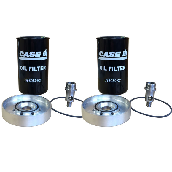 Spin-On Engine Oil Filter Adapter Kit - Bubs Tractor Parts