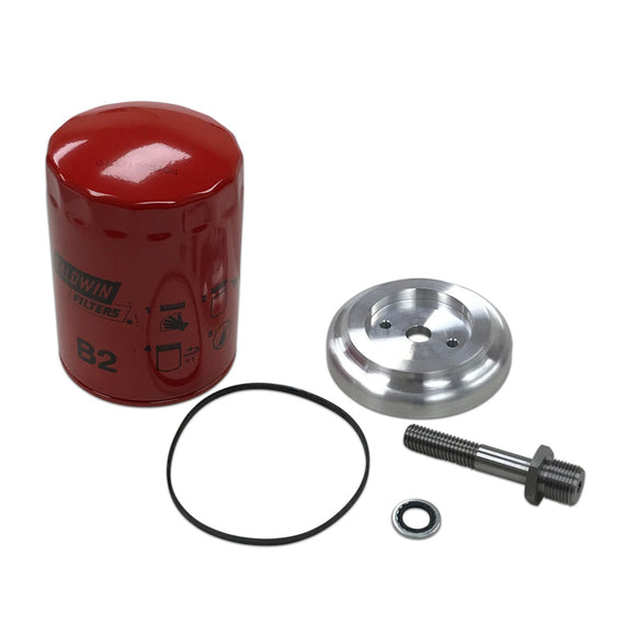 Spin On Oil Filter Adapter Kit - Bubs Tractor Parts