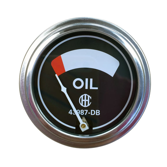 Oil Pressure Gauge (0-75 PSI) - Bubs Tractor Parts