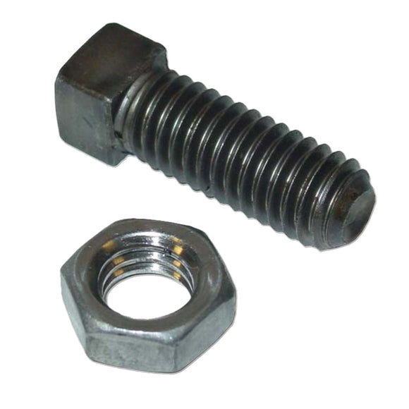 Tail Light Bracket Set Screw & Hex Jam Nut Only - Bubs Tractor Parts