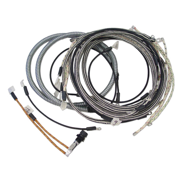Wiring Harness Kit For Tractors Using 4 Terminal Voltage Regulator - Bubs Tractor Parts