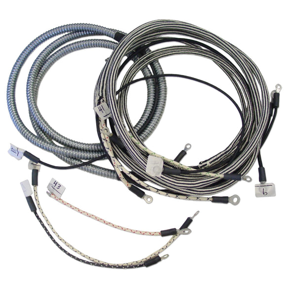 Wiring Harness Kit For Tractors With 3 Terminal Cut-out Relay - Bubs Tractor Parts