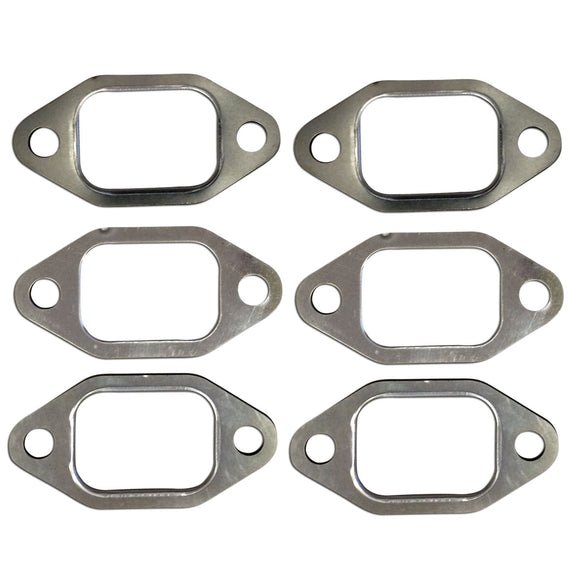 6-Piece Exhaust Manifold Gasket Set - Bubs Tractor Parts