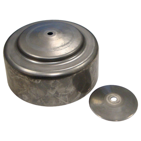 Air Cleaner Cap With Reinforcement Washer -- Fits McCormick Deering 10-20, 15-30, F20, F30 & More - Bubs Tractor Parts