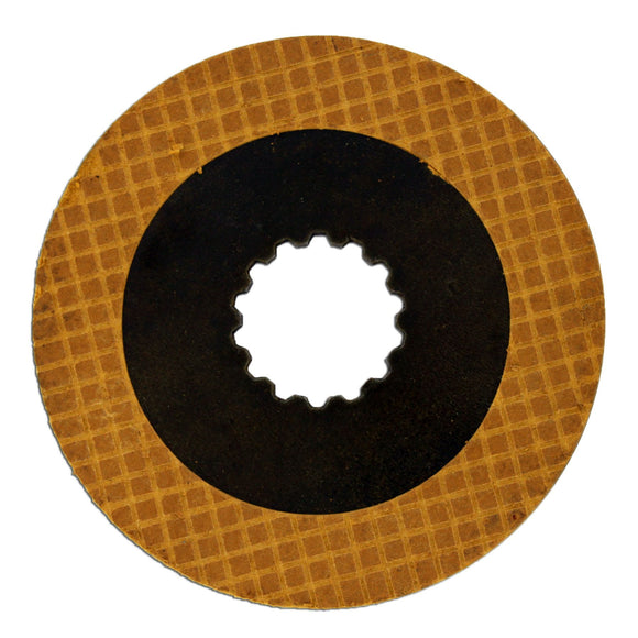 PTO Clutch Plate (with facing) -- Fits JD 50, 60, 520, 620 and more! - Bubs Tractor Parts