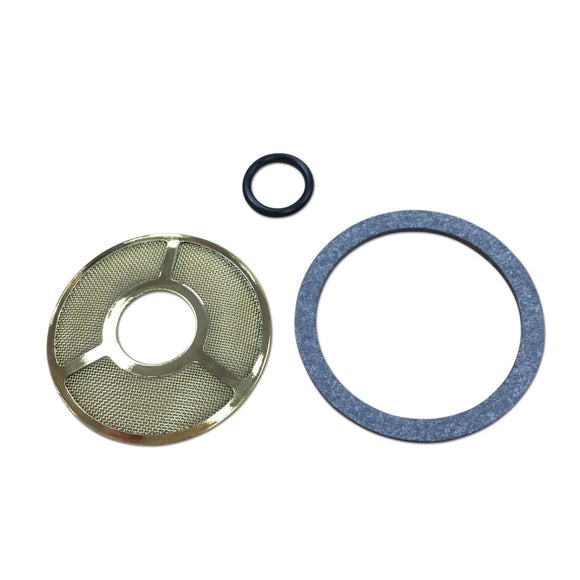 Carburetor Fuel Strainer Screen, Gasket and O-ring - Bubs Tractor Parts