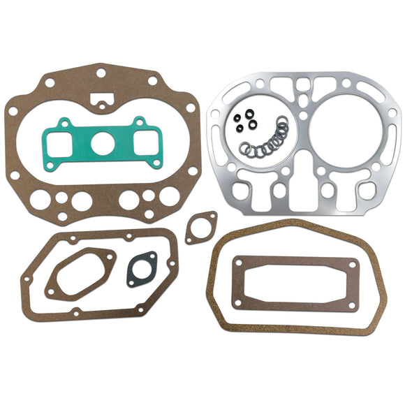 Valve, Ring & Cylinder Replacement Gasket Set (Rebore gasket set) -- Fits JD G Series - Bubs Tractor Parts
