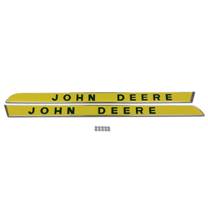 Side Moldings, Raised Letters: Fits JD New Generation 1010-5020 (Pair) - Bubs Tractor Parts