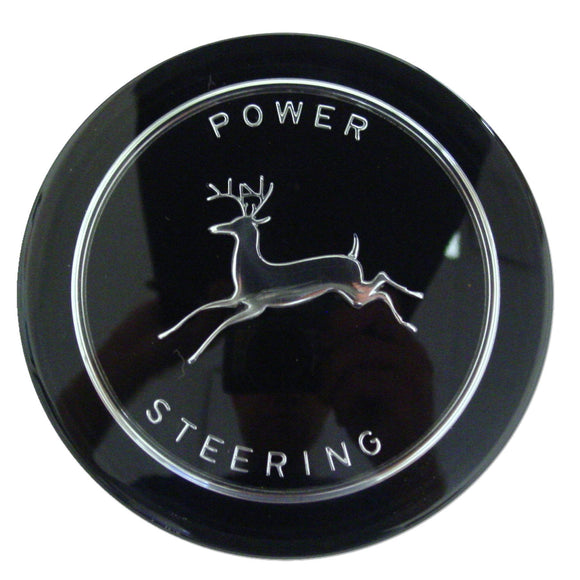 Steering Wheel Cap, Black Background - Bubs Tractor Parts