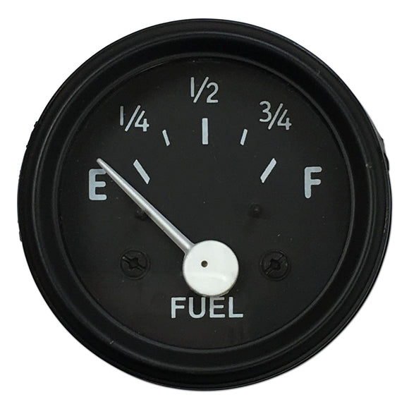 12-Volt Negative Ground Fuel Gauge - Bubs Tractor Parts
