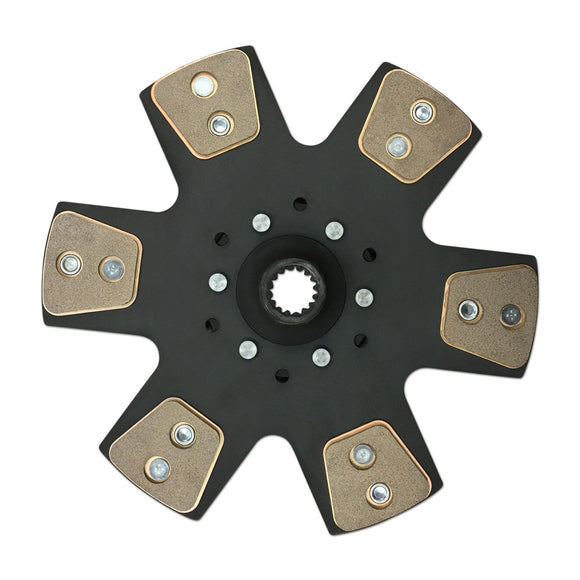 New 6 Pad Button Clutch Disc