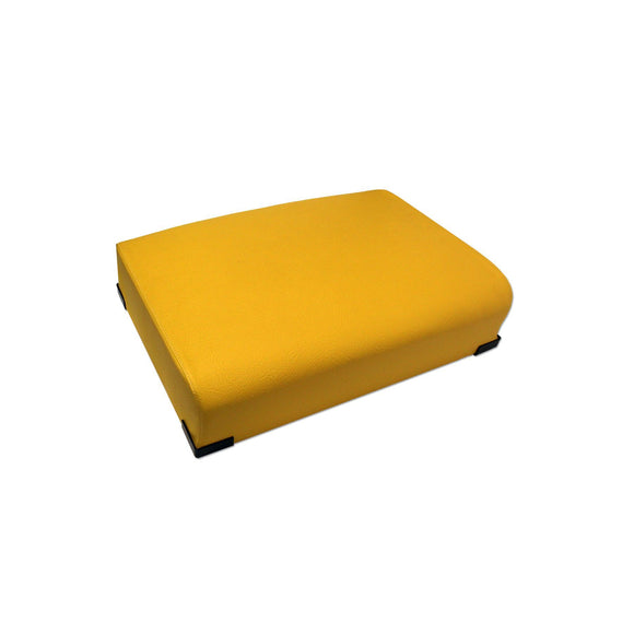 Float Ride, Yellow, Bottom Seat Cushion with internal steel springs - Bubs Tractor Parts