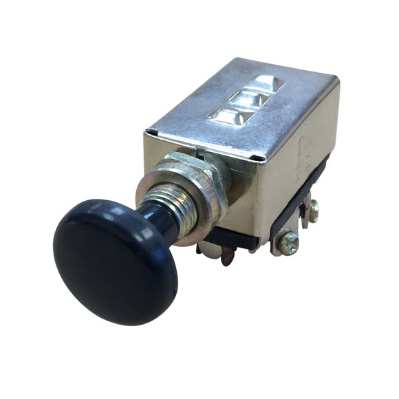 Universal 3-Position Fused Push / Pull Starter & Light Switch