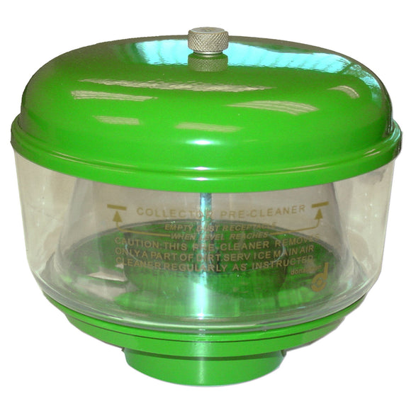 Precleaner Kit: Metal Lid With Brass Nut, Plastic Bowl, & Metal Base - Bubs Tractor Parts