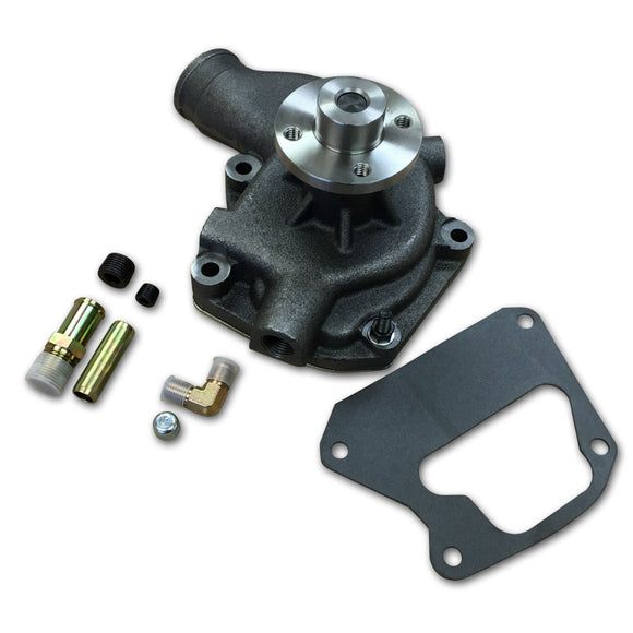 Water Pump, fits diesel models w/out air conditioning (New) - Bubs Tractor Parts