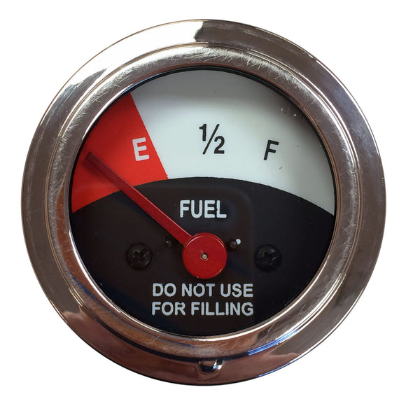 Fuel Gauge (12 Volt negative ground only) - Bubs Tractor Parts