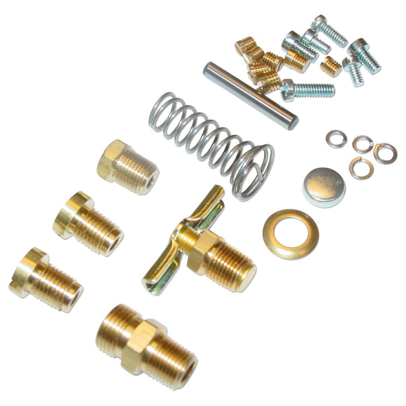 Single Induction Early Carb Hardware Kit (No Jets Or Nozzles Included) - Bubs Tractor Parts