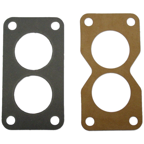 Carburetor Gasket Kit (end gaskets fit JD dual induction carburetors) - Bubs Tractor Parts