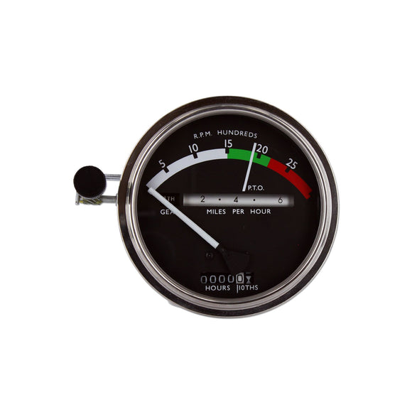 Tachometer With White Needle - Bubs Tractor Parts