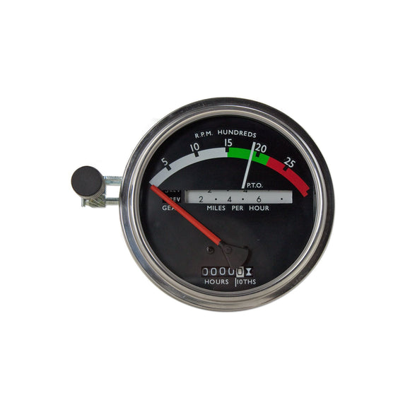 Tachometer With Red Needle - Bubs Tractor Parts