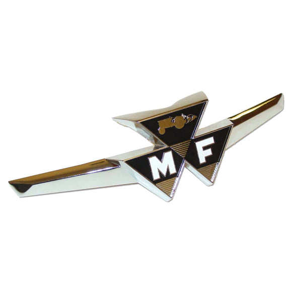 Front Emblem w/ Clips - Bubs Tractor Parts