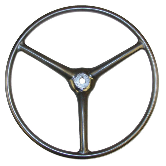 Steering Wheel (Black) - Bubs Tractor Parts