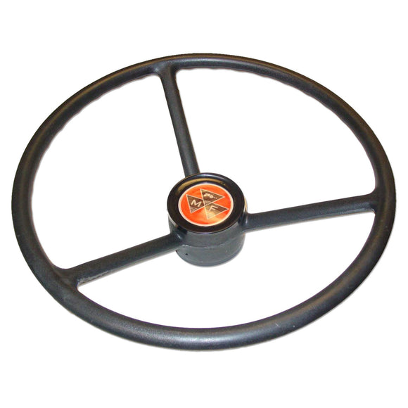 Steering Wheel With Plastic Cap - Bubs Tractor Parts