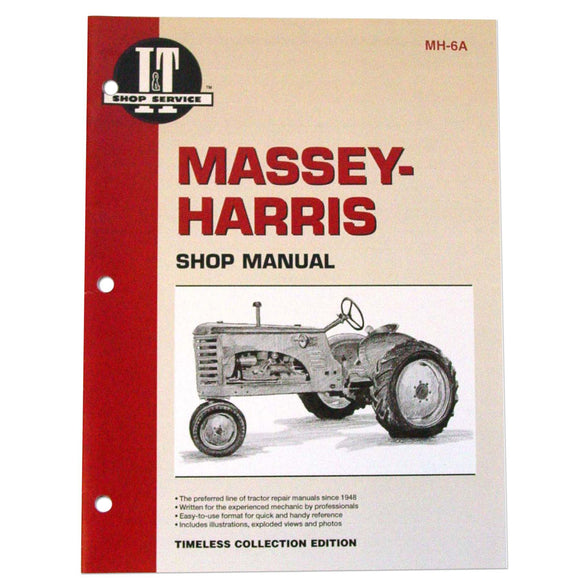 Massey Harris I&T Shop Manual - Bubs Tractor Parts