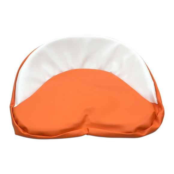 Tractor Seat Pad, Orange & White - Bubs Tractor Parts