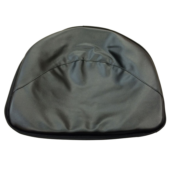 Black Tractor Seat Pad
