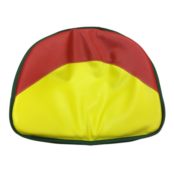 Red, Yellow, Green Tractor Seat Pad