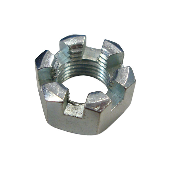 Slotted Hex Nut, 7/16